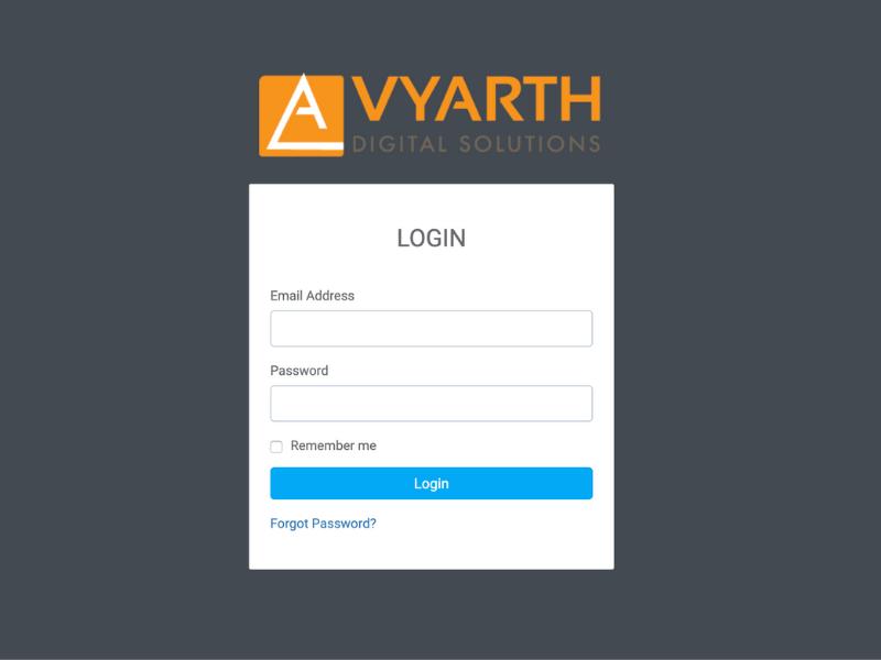 Client Login - Avyarth Digital
